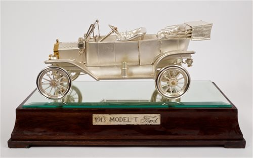 Lot 150 - Ford Motor Company 75th Anniversary sterling...