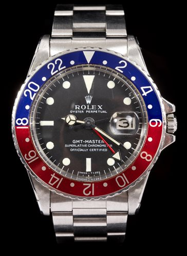 Lot 533-Rare 1960s gentlemen's Rolex Oyster Perpetual GMT ...