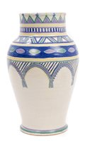 Lot 2004 - Large Poole Carster Stabler Adams vase with...