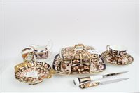 Lot 2040 - Selection of Royal Crown Derby Imari items -...
