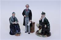 Lot 2050 - Three Royal Doulton figures - Statesman HN2859,...