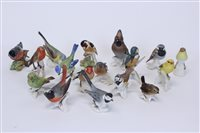 Lot 2054 - Fifteen Goebel birds - including Waxwing,...