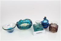 Lot 2079 - Collection of art glass - including Mdina...