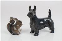 Lot 2069 - Royal Copenhagen model of a Scottie dog,...