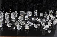 Lot 2095 - Collection of Swarovski crystal miniature...