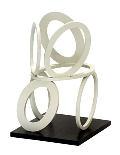 Lot 1151-*Nigel Hall (b. 1943), painted steel on wood base ...