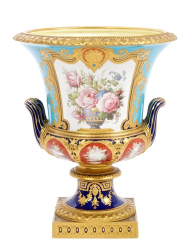 Lot 1-Very fine Victorian Royal Crown Derby...