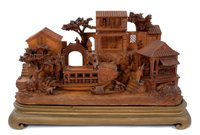 Lot 726 - Fine quality late 19th century carved wooden...