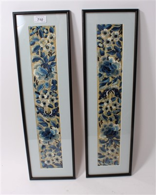 Lot 710 - Pair of late 19th / early 20th century Chinese