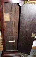 Lot 1175-Fine George III regulator longcase clock with...