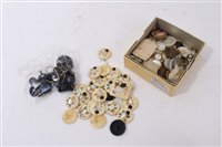 Lot 733 - Collection of Japanese ivory and shibyama...