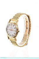 Lot 620-1950s gentlemen's gold (18ct) Omega Automatic...