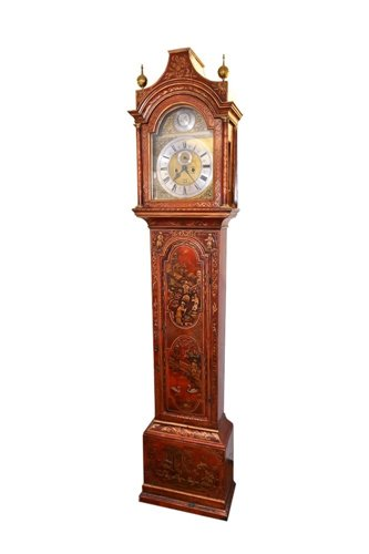 Lot 1172-Early 18th century eight day longcase clock,...