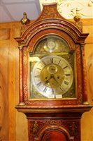 Lot 1172 - Early 18th century eight day longcase clock,...
