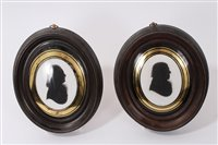 Lot 657-John Miers (fl.1760-1810) two painted...