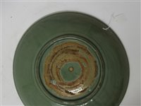 Lot 1-Fine Chinese Ming period Longquan celadon...