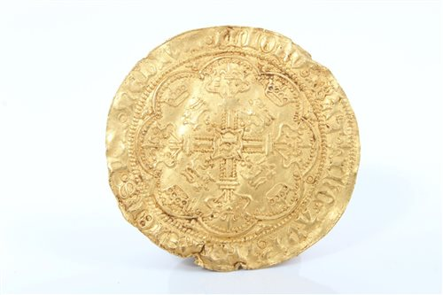 Lot 49-G.B. circa 1422 - 1430 Henry VI gold hammered...