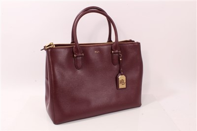 Lot 3050-Ralph Lauren Newbury Satchel