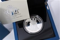 Lot 13-G.B. The Royal Mint The Queen's Diamond Jubilee Silver Proof Five-Ounce £10 coin 2012 – in case of issue with Certificate of Authenticity (1 coin)