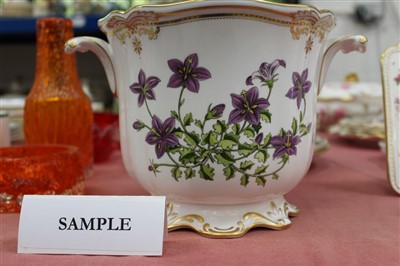Lot 2044-Collection of Spode 'Stafford Flowers' pattern ceramics