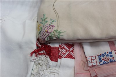 Lot 3052-Selection of baby clothes and a Japanese kimono