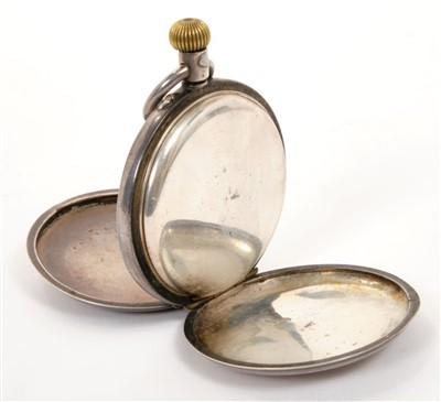 Lot 4-Late Victorian Royal / Diplomatic Presentation silver hunter pocket watch