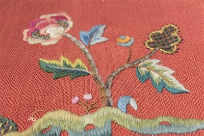 Lot 3060-Three mediaeval revival table runners