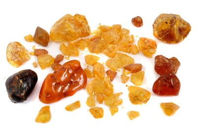 Lot 878 - Group of amber specimens
