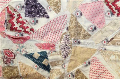 Lot 3054-Two 1930/40's Patchwork Quilts