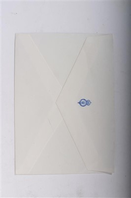 Lot 15-HRH Prince Charles Prince of Wales, 6 signed and inscribed birthday cards to Mr Dennis Brown R.V.M.