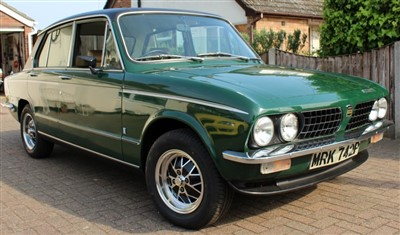 Lot 2951-1976 Triumph Dolomite Sprint