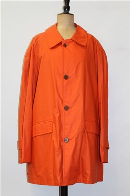 Lot 3078-Gentlemen's coat by Gieves and Hawkes
