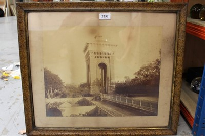 Lot 35-Two old framed photographs