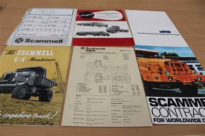 Lot 2956-Collection of old truck sales brochures – including Leyland, Morris, etc
