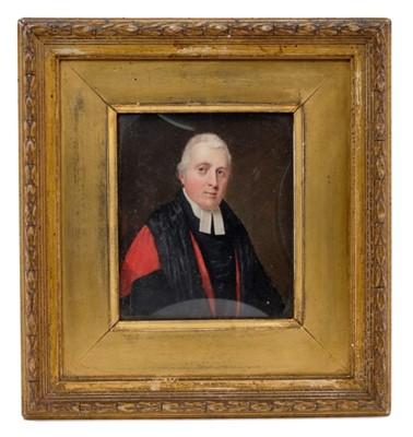 Lot 827-Dr James Griffith portrait miniature on ivory