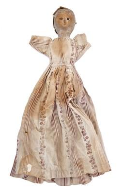 Lot 830 - Rare early 18th century doll