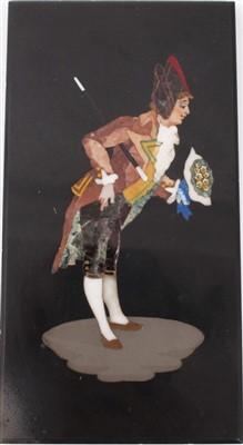 Lot 885 - 19th century Italian specimen panel