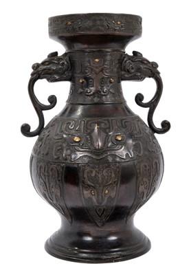 Lot 892 - Chinese archaic vase bronze vase