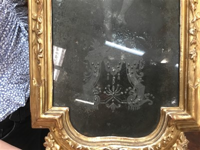 Lot 1498-Fine pair of 18th century Venetian wall mirrors