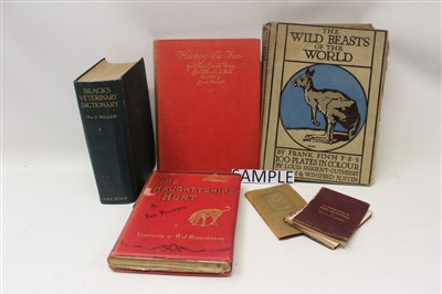 Lot 848-Books - a collection of Victorian and later sporting books to include Bailey's Hunting Directories