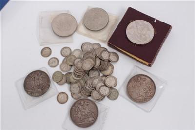 Lot 15-Mixed coinage