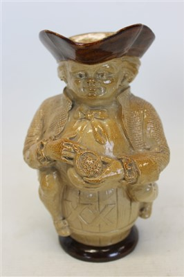 Lot 2018-Doulton Lambeth Toby jug manufactured for Phillips Oxford Street London, numbered 169753 3700