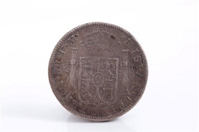 Lot 17-Mexico – Carolus IIII of Spain silver 8 Reales