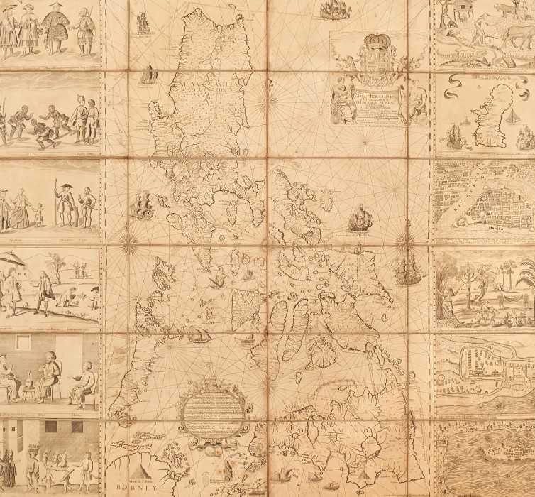 790 - Pedro de Murillo Velarde (1696-1753), engraved map - 'Carte Hydrografica Y Chorographica de la Yslas Filipinas', published Manila, 1734 (The Murillo Velarde Map)