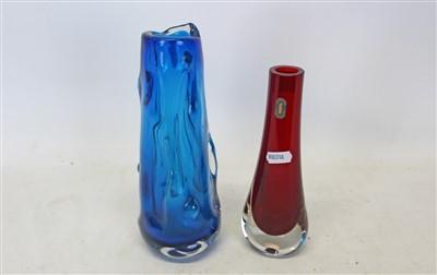 Lot 2015-Two Whitefriars vases