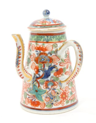 Lot 3-17th century Chinese 'Clobbard' rice wine pot