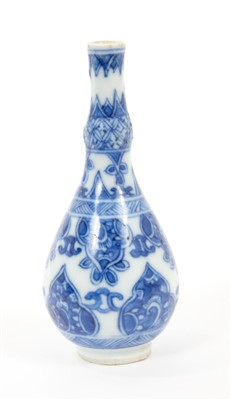 Lot 20-18th century Chinese miniature vase