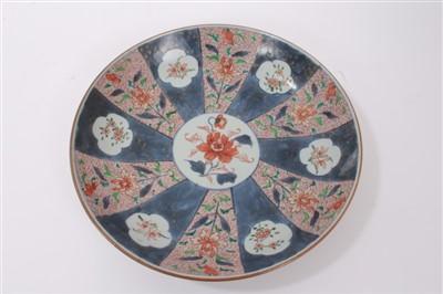 Lot 18-18th century Chinese Imari dish