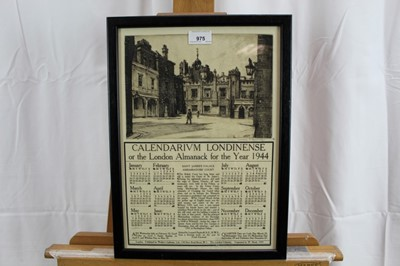 Lot 23-*Leonard Russell Squirrell, four pencil signed etchings of London