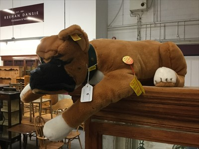 Lot 9-Steiff dog- Hector, with tag and button